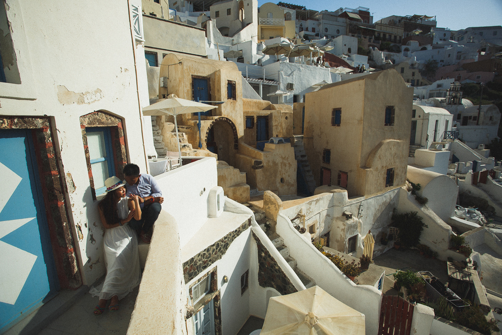Honeymoon photoshoot, Oia, Greece, destination photographer, stunning photography