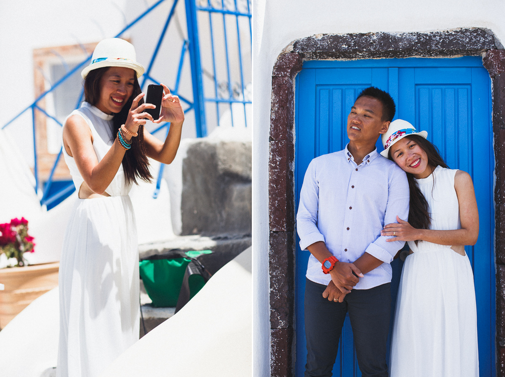 Honeymoon photoshoot, engagement photo ideas,  Greece, destination photographer