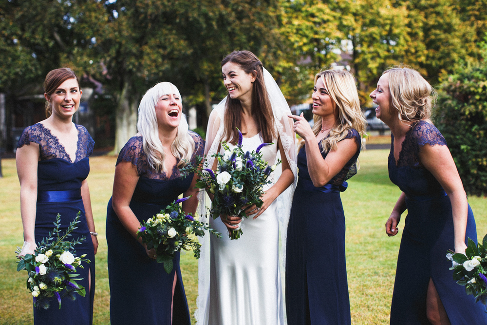 london wedding photographer, bridesmaids, unique wedding, London wedding photographer, candlelight wedding