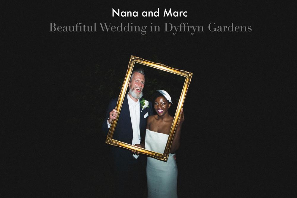 Wedding in Wales Dyffryn Gardens