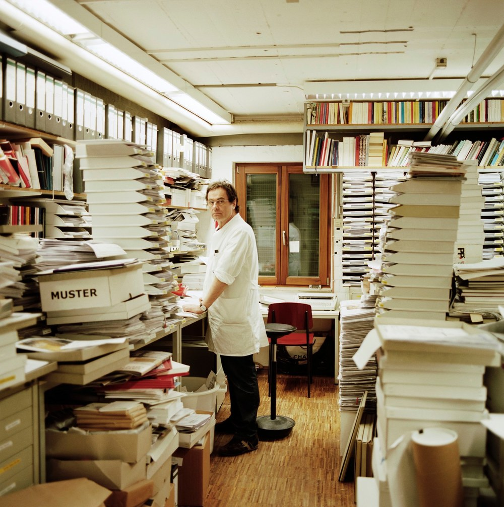 A still from the film 'How to Make a Book with Steidl'.