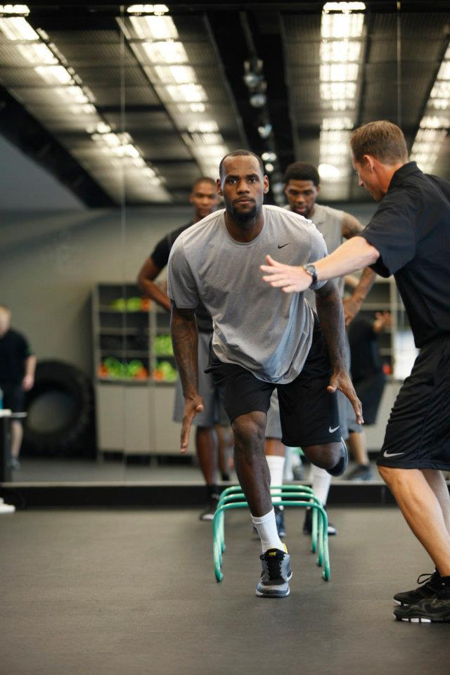 Walter - Nike Sparq Training with Lebron James