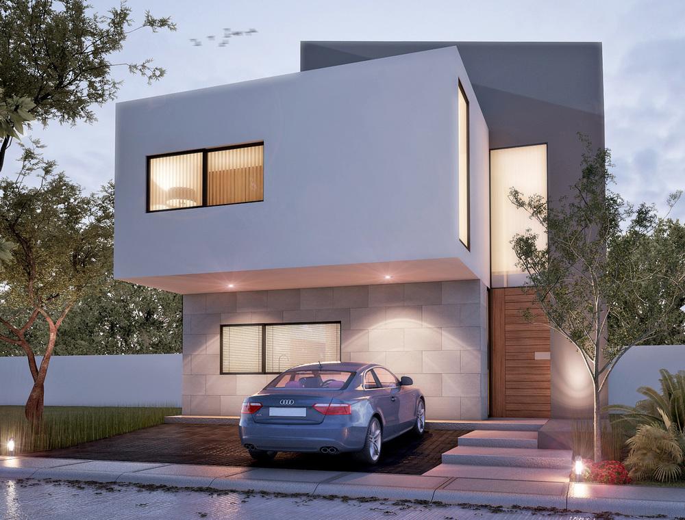 Tipo: Casa Habitación  Área de Construcción: 183.95 m2  Render: 3XTRUDE   Inicio de obra: Noviembre2013  Ubicación: Zapopan, Jal.