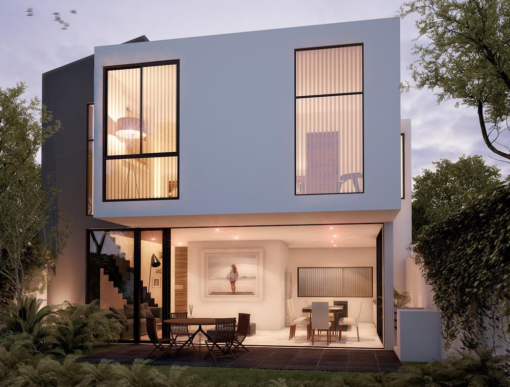 Tipo: Casa Habitación  Área de Construcción:183.95 m2  Render: 3XTRUDE   Inicio de obra: Noviembre2013  Ubicación: Zapopan, Jal.