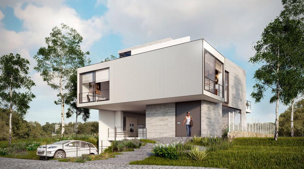 Tipo: Casa Habitación  Área de Construcción: 430 m2  Rendering: DOM Visuals   Inicio de proyecto: Mayo 2016  Ubicación:ARAUCA II Zapopan, Jal.
