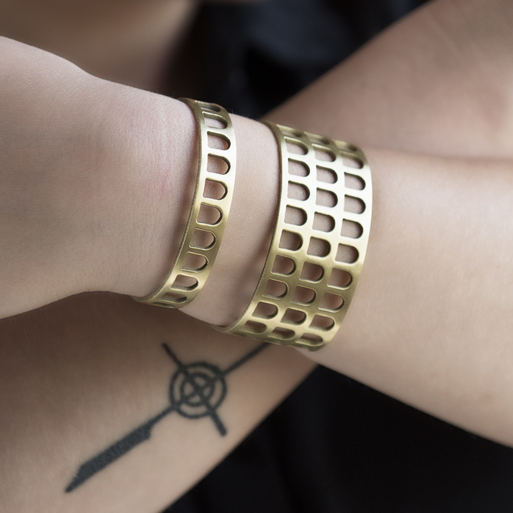 Colosseum Cuff Bracelet | BluHour Jewelry