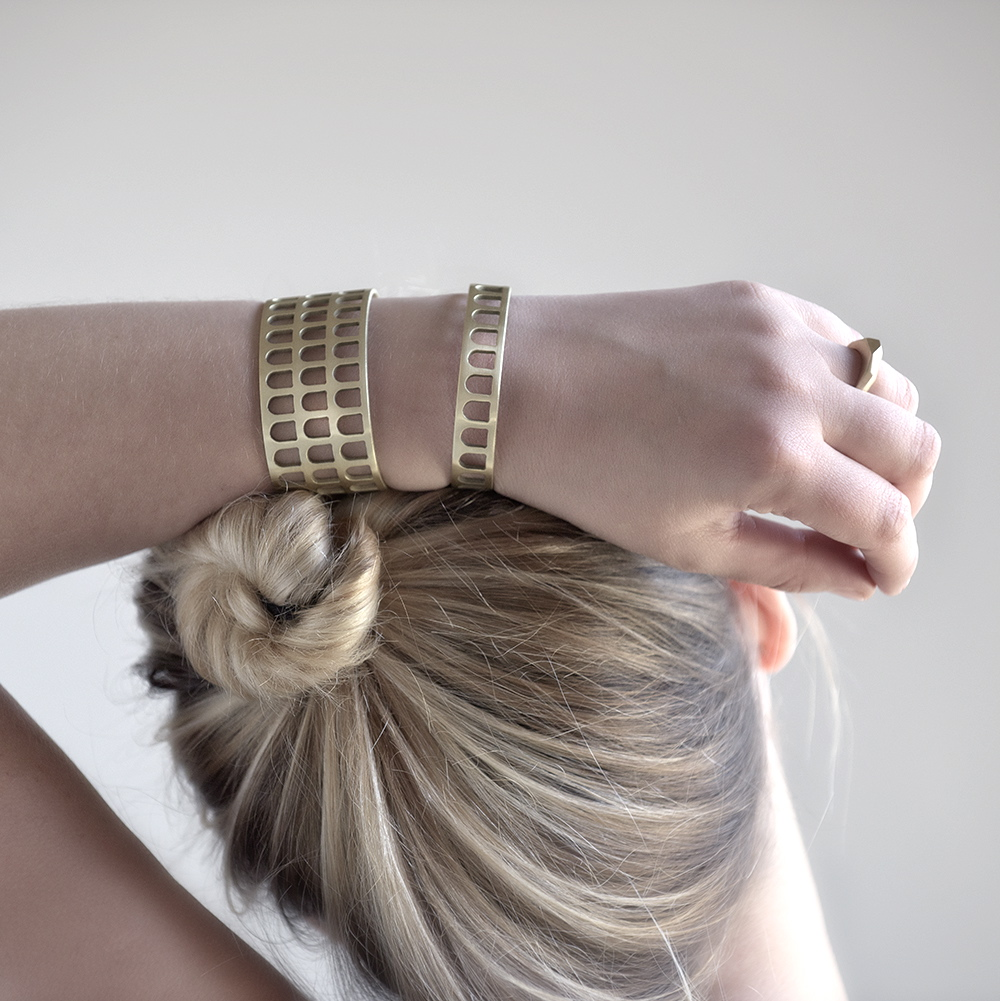 Colosseum Cuffs | Portland, Oregon | BluHour Jewelry