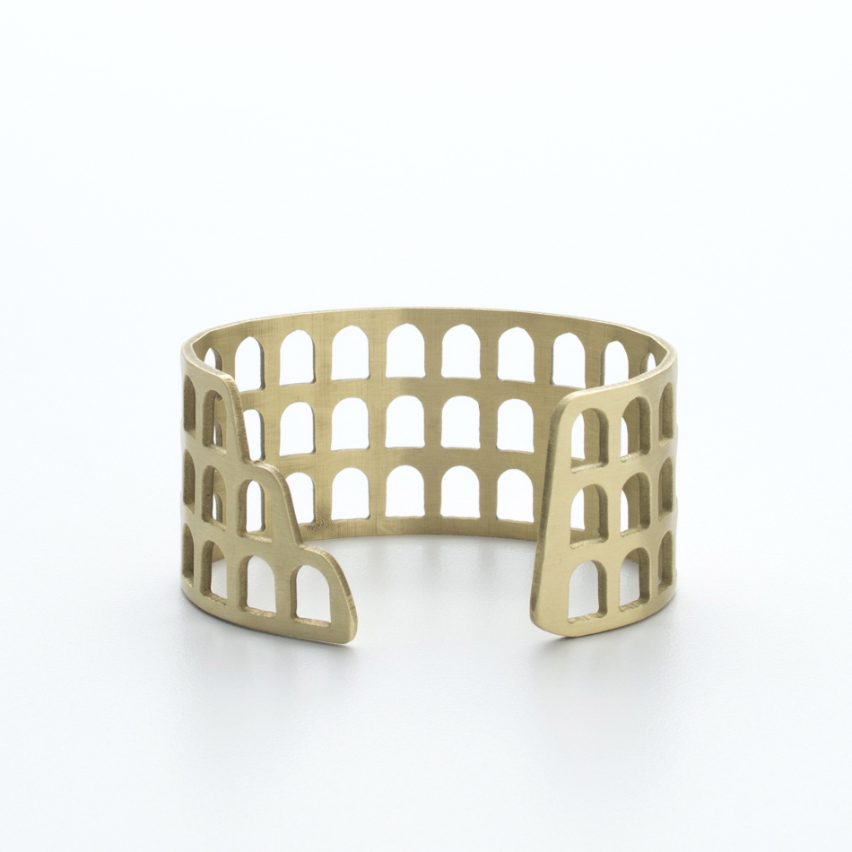 Colosseum Cuff | Portland, Oregon | BluHour Jewelry
