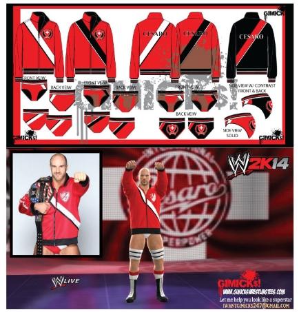 WWE Cesaro Gear