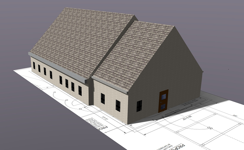 Early Scout Building Rendering