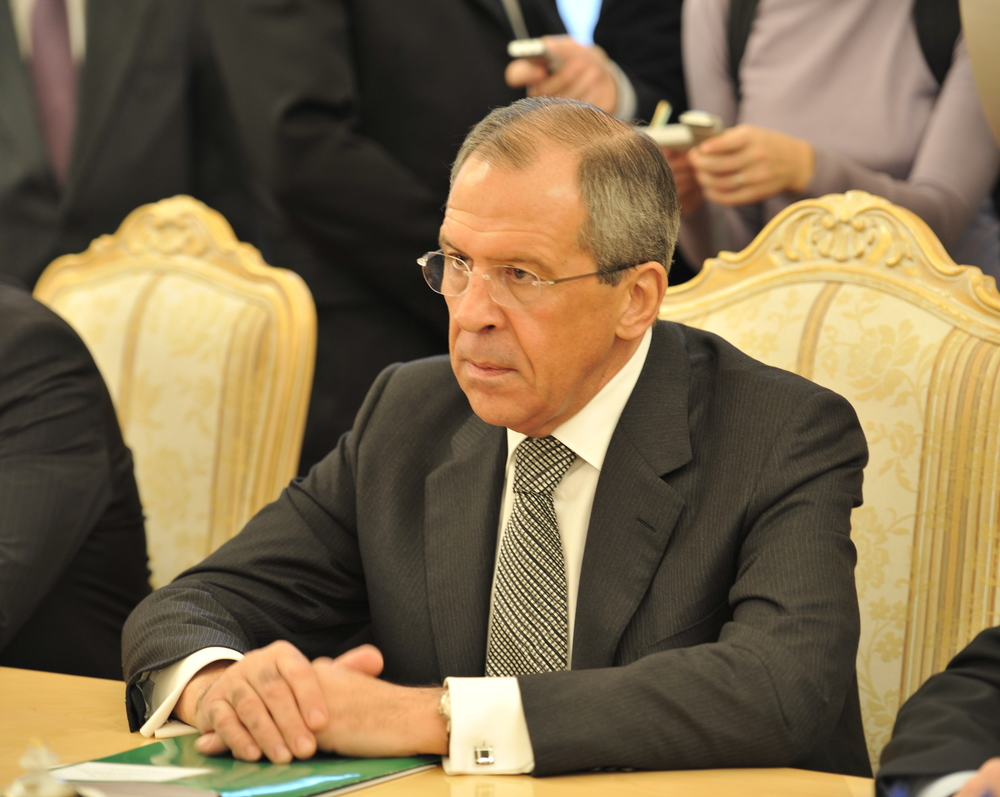 Russian Foreign Lavrov.   Utenriksdepartementet UD February 2010