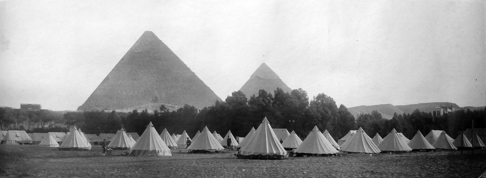 Field Hospital, Egypt, 1914 (Irene Victoria Read Papers; Mitchel Library | Flickr)