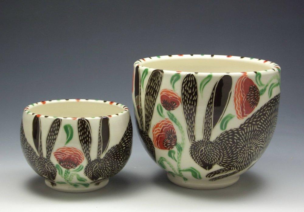 Bowls by Sue Tirrell