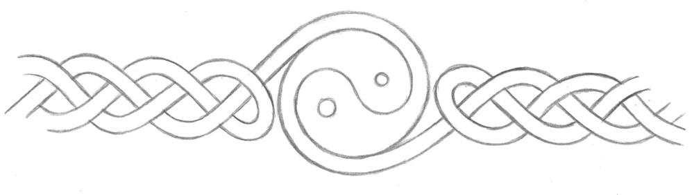 celtic yin yang band