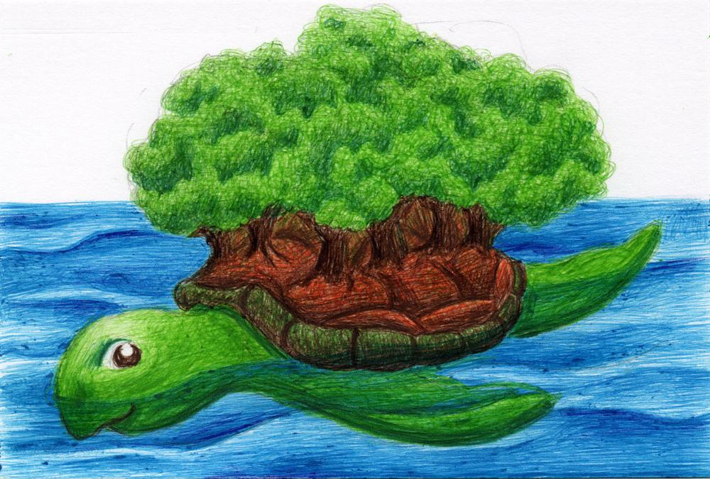 sea turtle trees