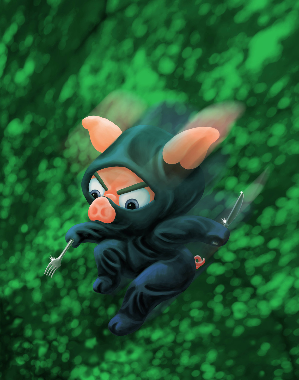 ninja piglet
