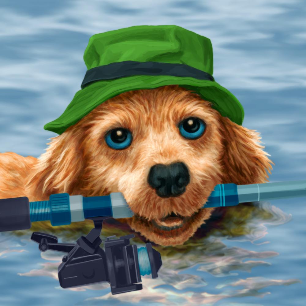 doggone fishin'