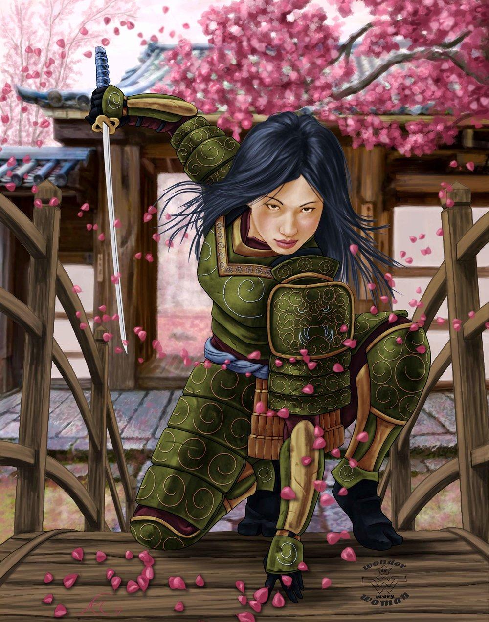 onna bugeisha - female samurai