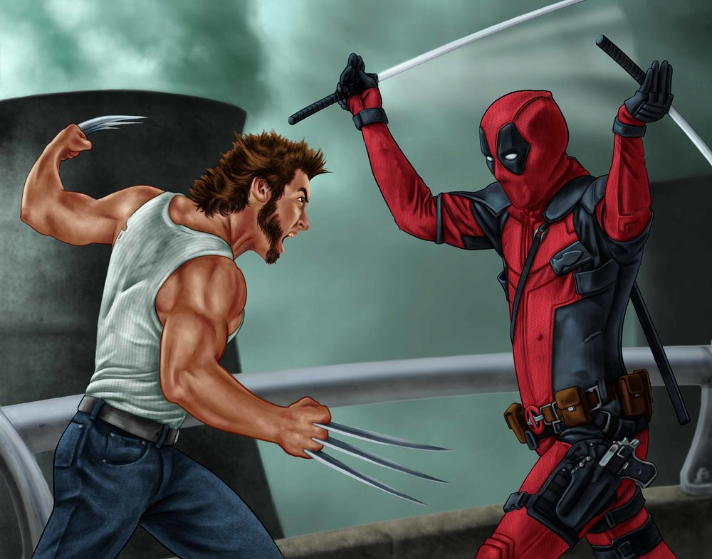 deadpool vs. wolverine