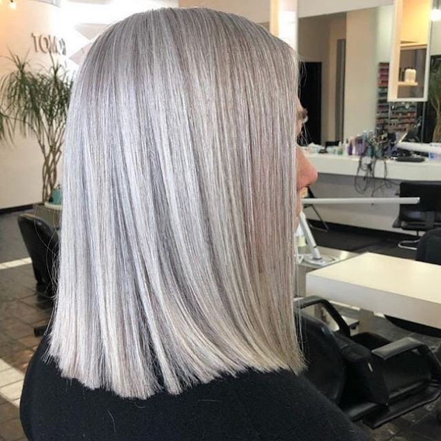 Do you know anyone who has premature gray hair? What happens when your hair grays after your 26th birthday? Good news! There are plenty of options to keep or cover those silver strands. Sometimes covering to match a unique natural color can be challenging but all the more reason to find an expert colorist! If you have questions about your color, book a FREE consultation with Rachel at TOMORROWS Salon. Call 440-333-5056 today!