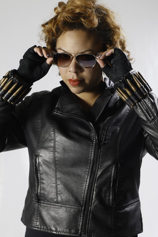 Yolanda as The Black Widow