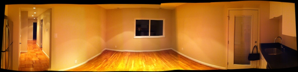 Seriously, the new digs are super-sweet, you guys. Come visit. I have furniture now and everything.