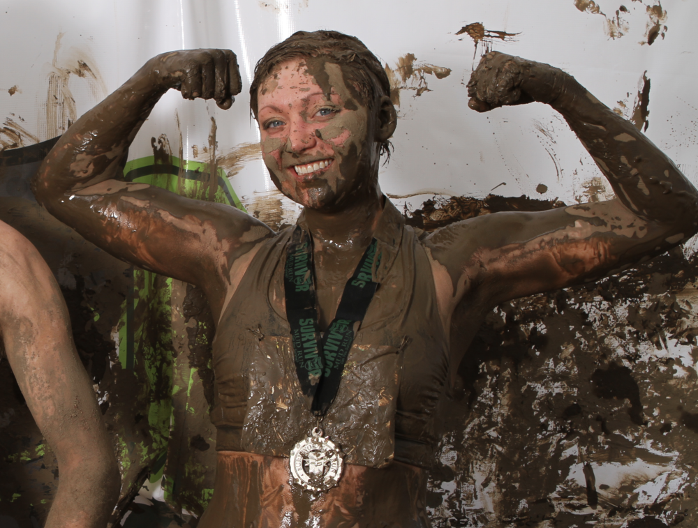 Did a mud run in Northern California. No, it wasn't the one where you get electrocuted with battery wires. Those people are nuts.