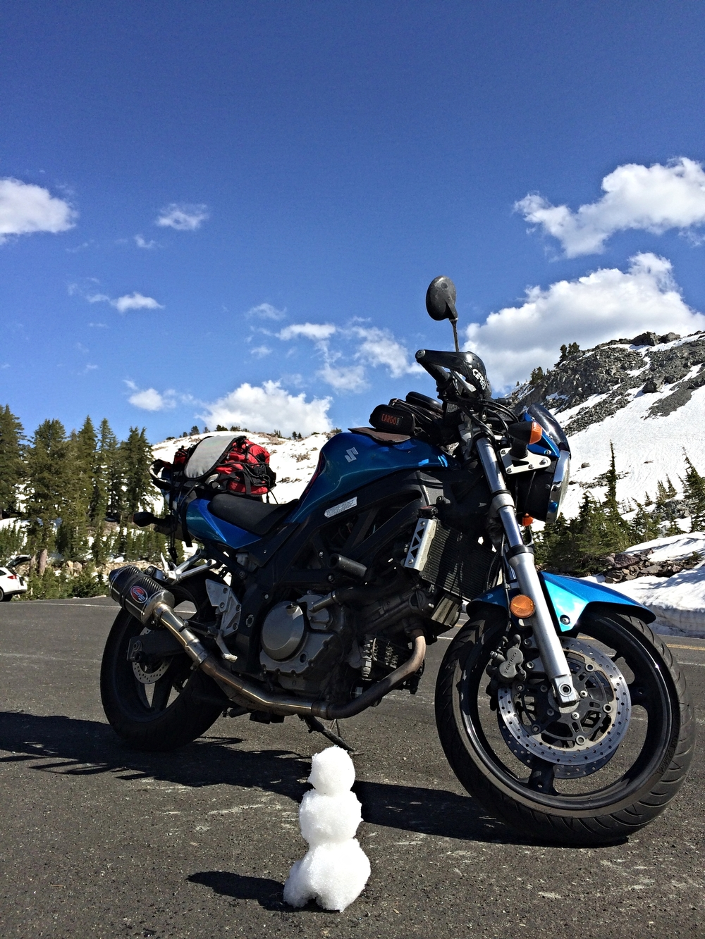 Favorite photo of my bike yet.
