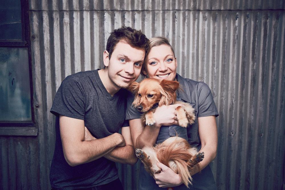 Bonus family photo with the photographer himself.