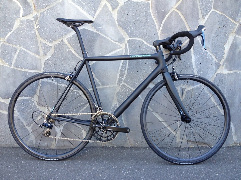 2013 CANNONDALE SUPERSIX EVO  BLACK
