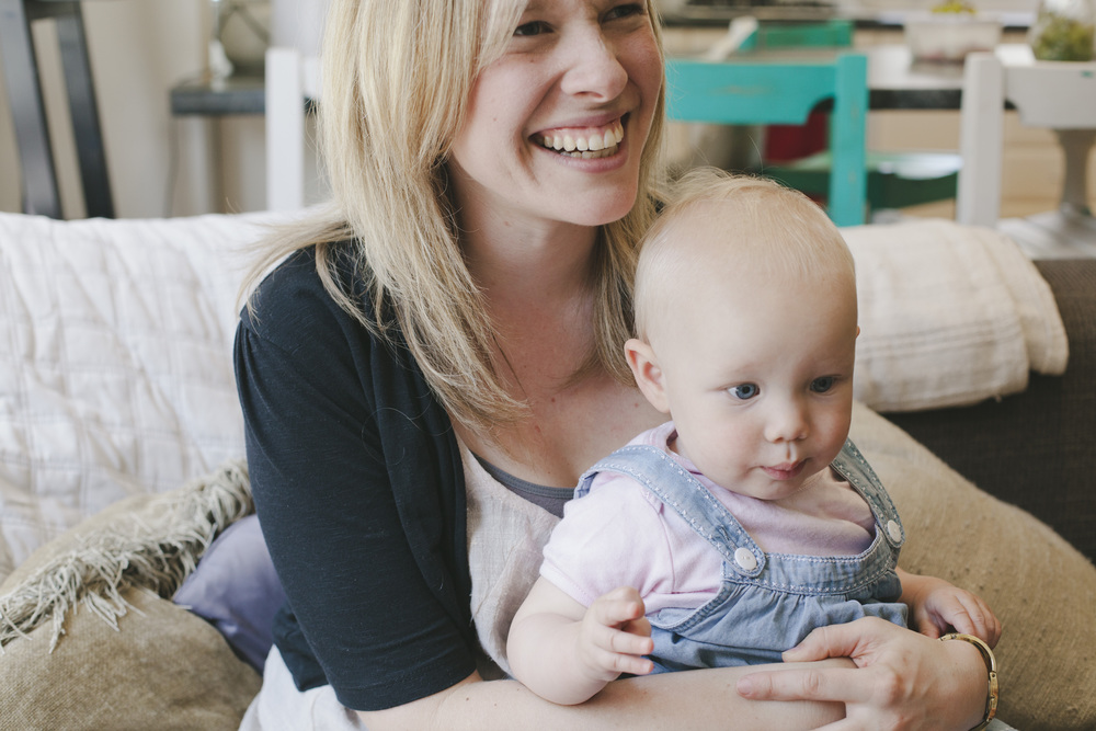 My sister Sarah, staying in the picture with her beautiful daughter Evie. Photo by Bek Grace Photography