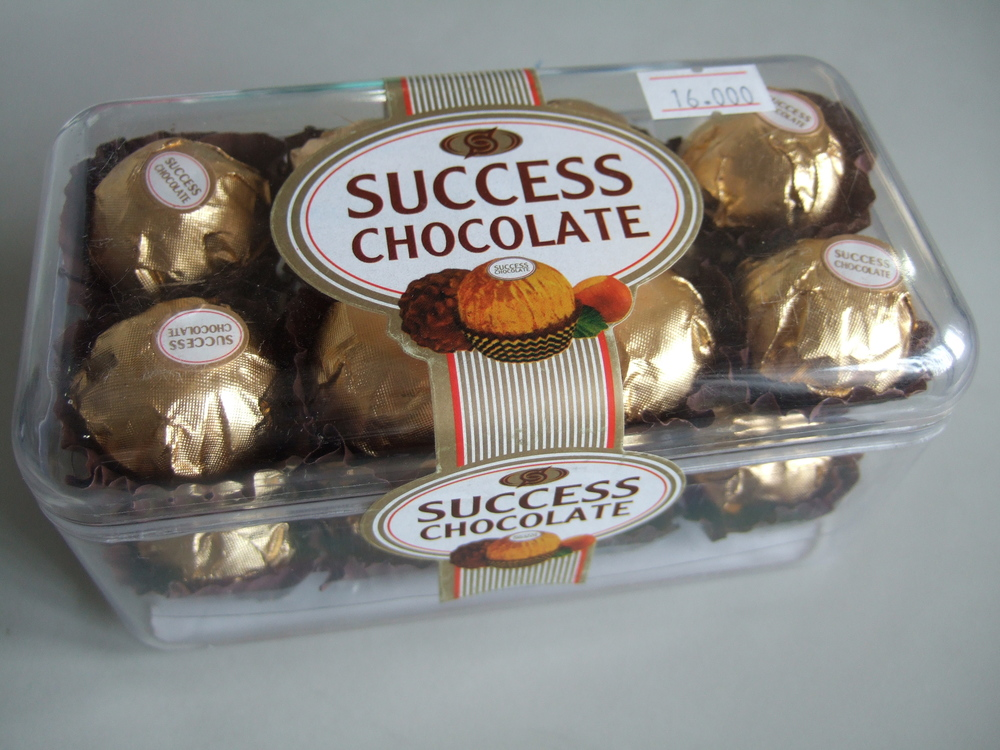 Success chocolate