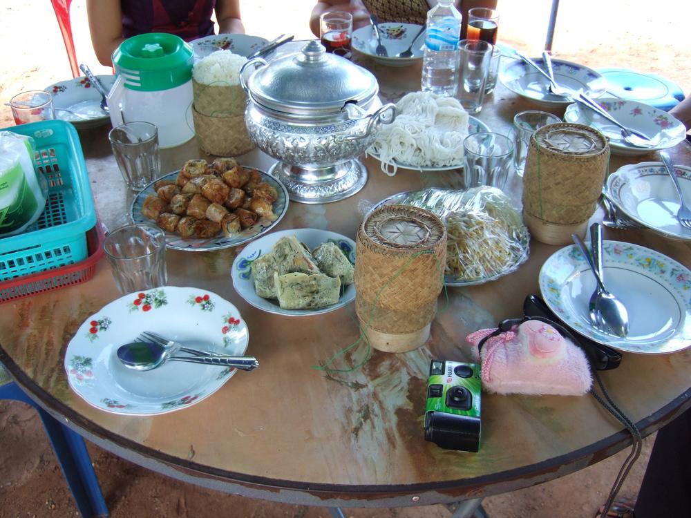 Food at Baci Ceremony.JPG