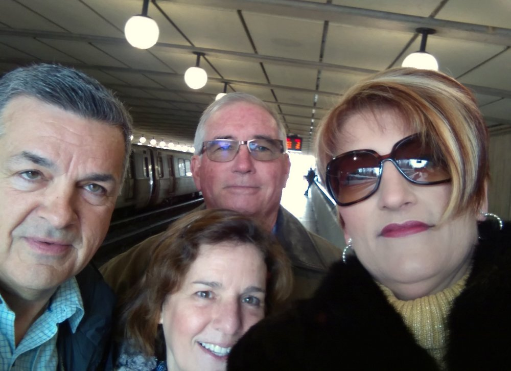 Living in the moment meeting great people on the metro