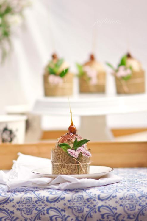 Chocolate Vegan Peanut Butter Cupcake with Banana Ice Cream