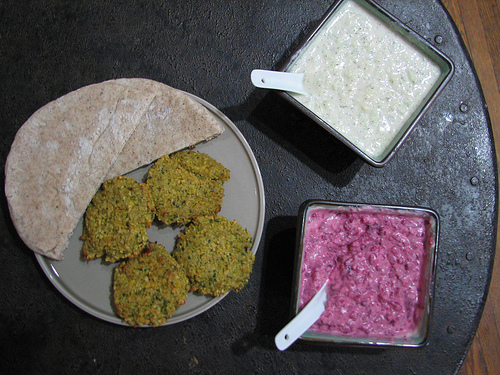 baked falafel with tzatziki two ways.jpg