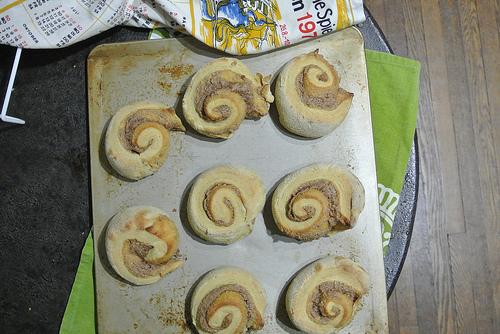 pumpkin-cashew cinnamon roll pan.jpg
