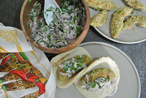 pepita-crusted avocado tacos with radish relish table.jpg