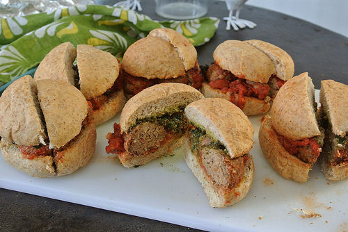 tofu-pecan meatball sub table.jpg