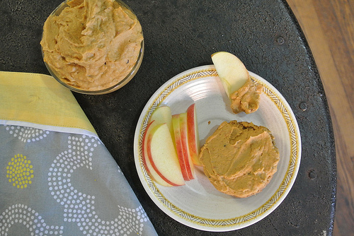 chai sweet potato peanut butter spread table.jpg