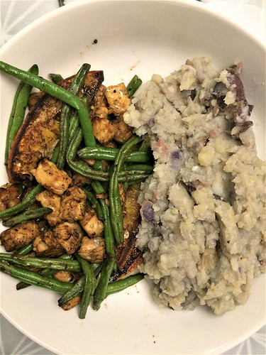 balsamic tempeh oranges and haricots verts plate.jpg