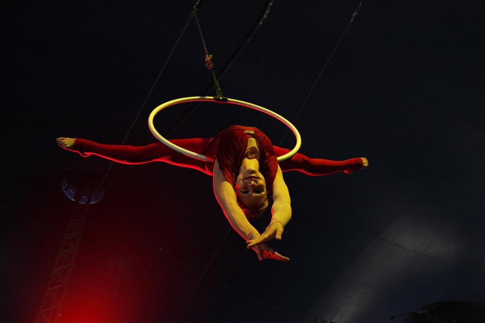 Aerial hoop SkyFest