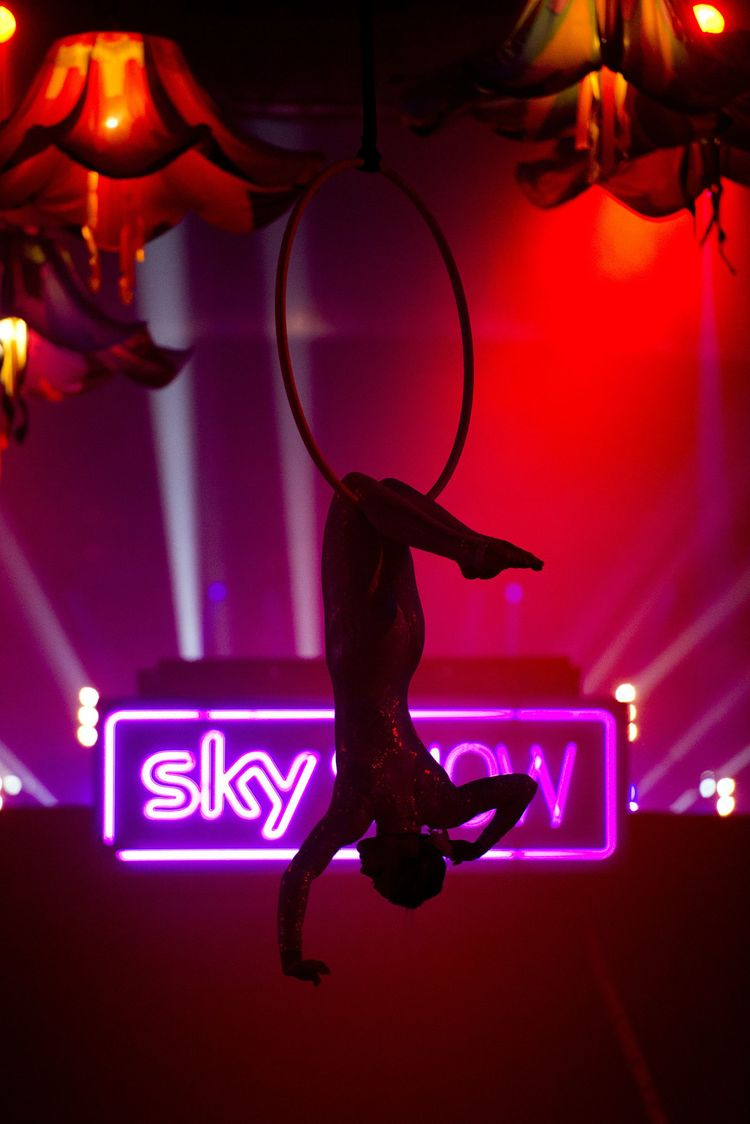 © London News Pictures. Sky Show 2013 for Rouge Events