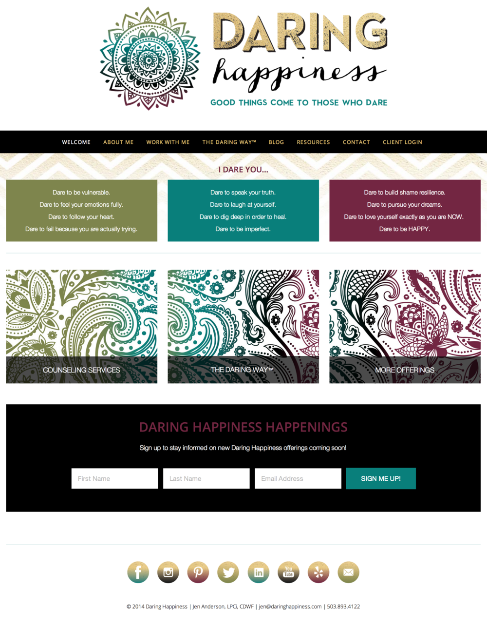 Website Setup Service: Squarespace Template Setup and Theme Customization