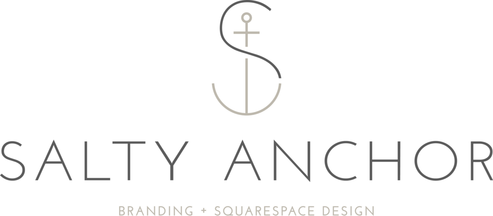 Salty Anchor Design Branding + Squarespace Website Design for Small Businesses Westboro Brewster Portsmouth