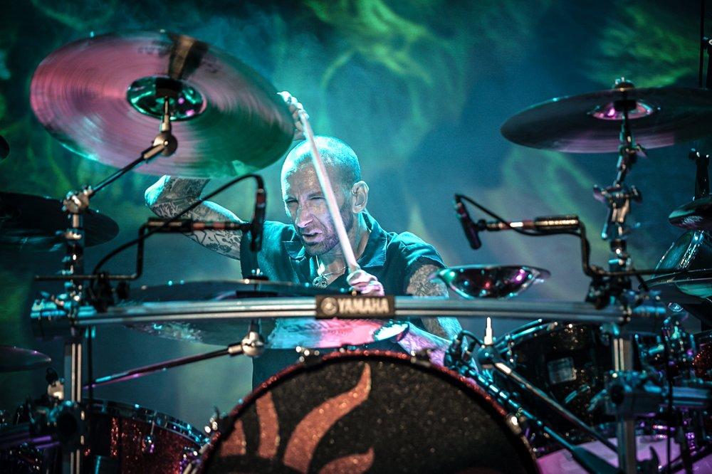 Shannon Larkin of Godsmack