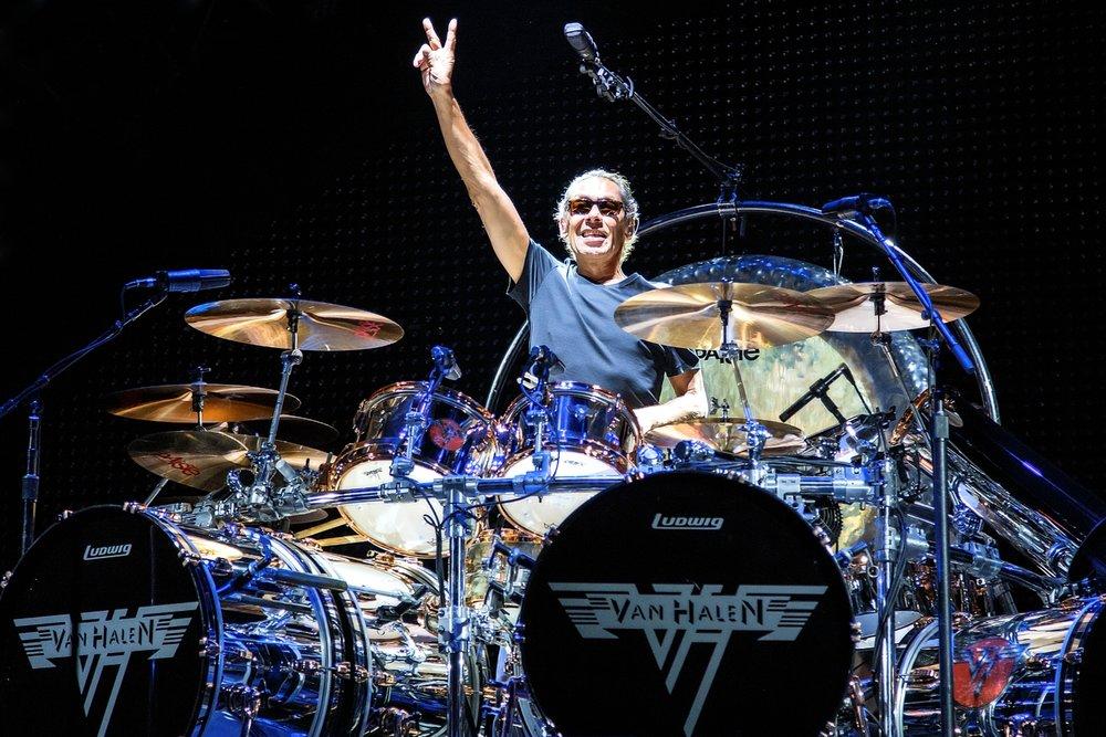 Alex Van Halen of Van Halen