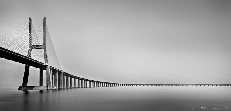 Vasco da Gama Bridge (Lisbon, Portugal)
