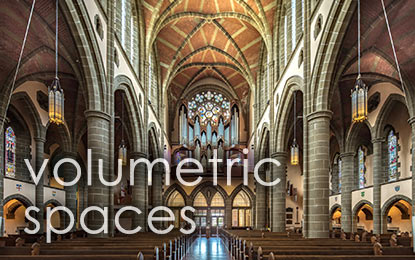 Volumetric Spaces