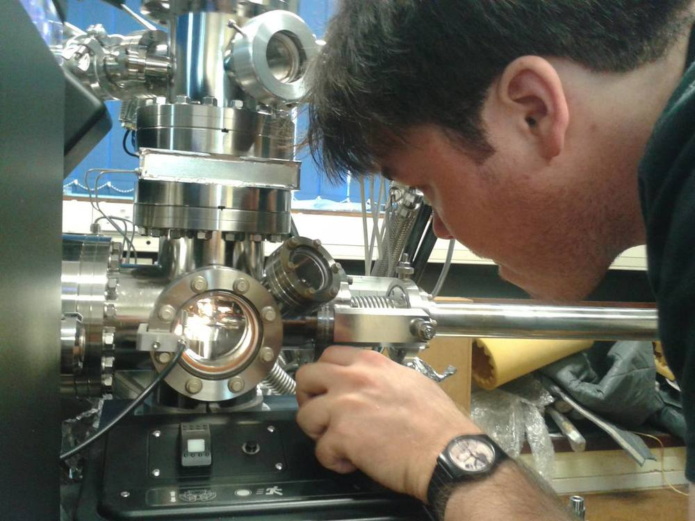 Running the LEAP atom probe at Oxford